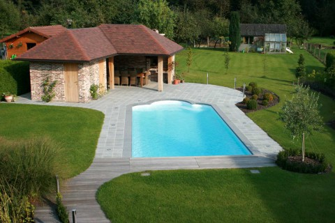 Piscines kit bal ares votre kit piscine polyester prix for Prix piscine polyester posee