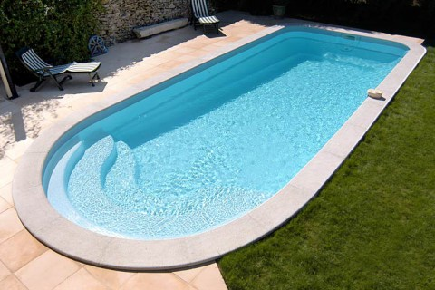 Piscine in kit for Kit piscine coque polyester