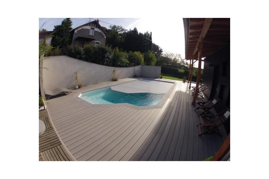 Kit piscine polyester born o for Piscine coque kit complet
