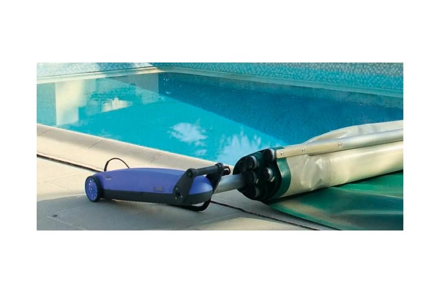 Enrouleur lectrique pour couvertures piscines kit - Enrouleur electrique vide ...