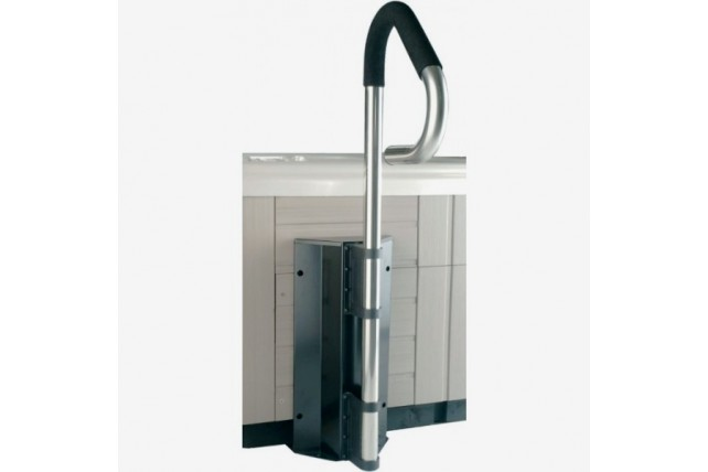Rampe d 39 acc s pour spa piscines kit for Rampe inox pour piscine