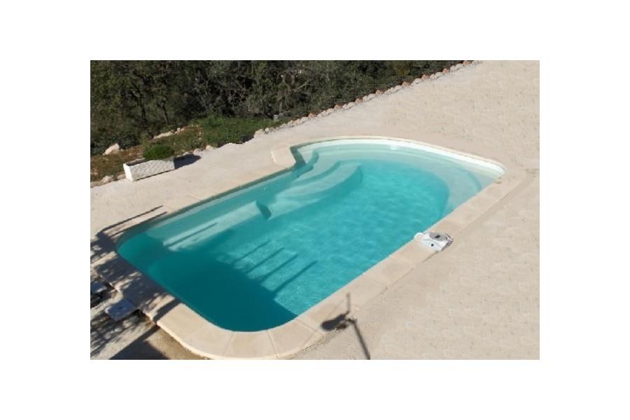 kit piscine coque polyester bahamas avec piscines. Black Bedroom Furniture Sets. Home Design Ideas