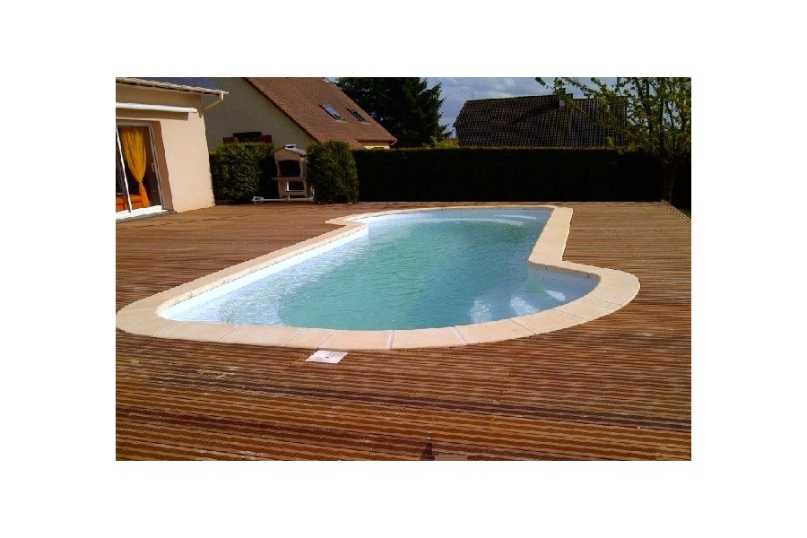 Kit piscine coque polyester mykonos for Kit piscine coque polyester