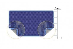 Couverture à bulles pour piscine Montécristo