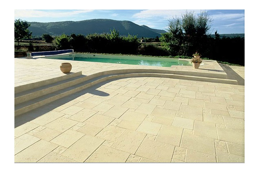 Dalles 45 x 60 x 04 piscines kit for Dalle piscine