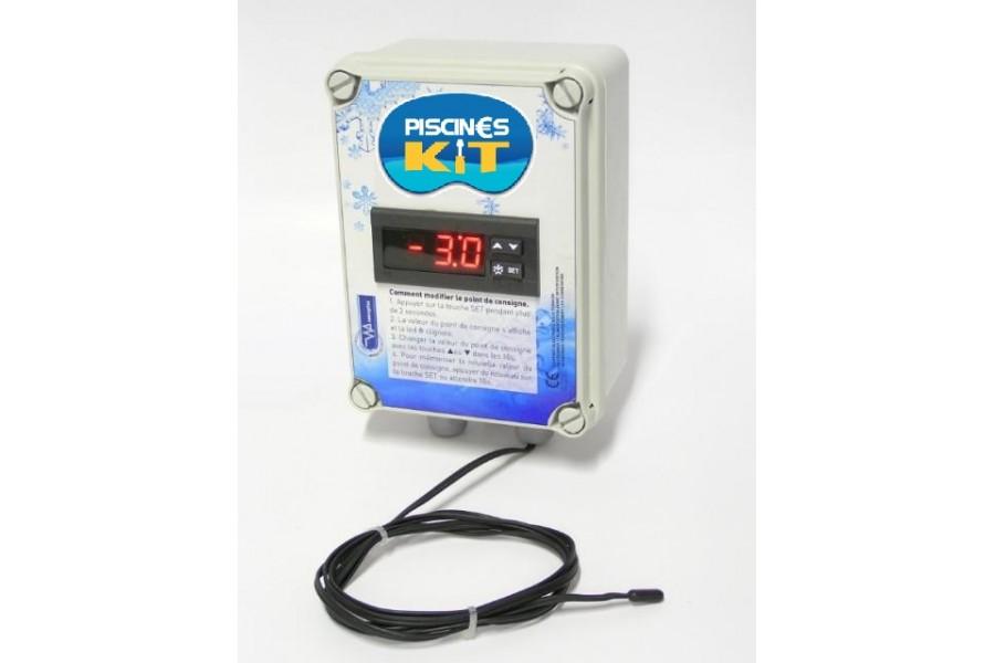 Coffret lectrique de mise hors gel niveau automatique for Systeme hors gel pour piscine