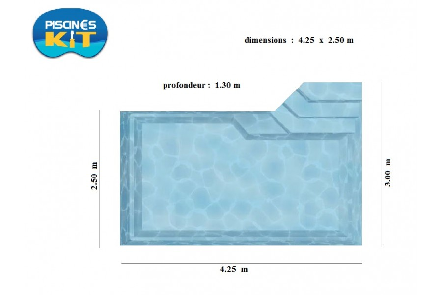 Kit mini piscine antin a for Piscine en kit enterree