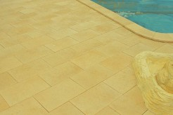 Margelles Méditerranée II sur mesure pour votre piscine