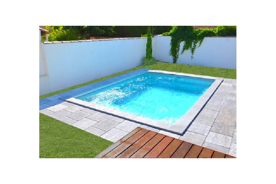 Kit piscine carr e polyester jersey for Piscine sur bordeaux