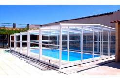 Abris de piscine t lescopique bas mi haut haut ou adoss - Produits piscine discount ...