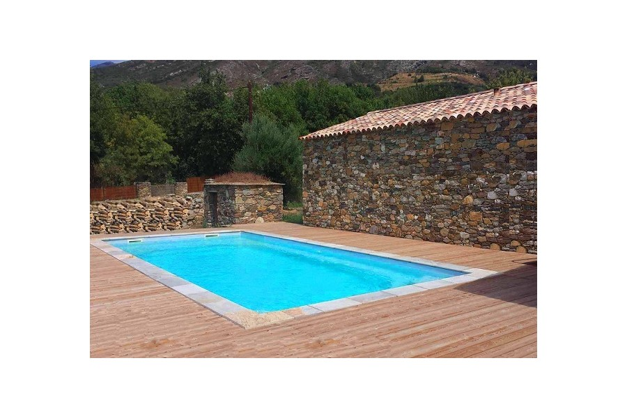 destockage piscine coque excellent piscine bois