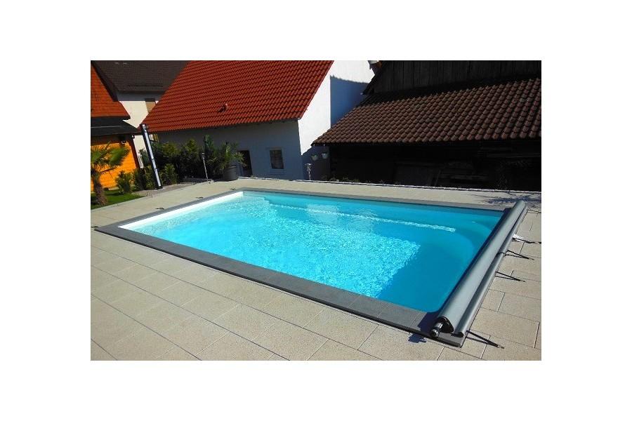 kit piscine cap vert coque polyester rectangulaire. Black Bedroom Furniture Sets. Home Design Ideas