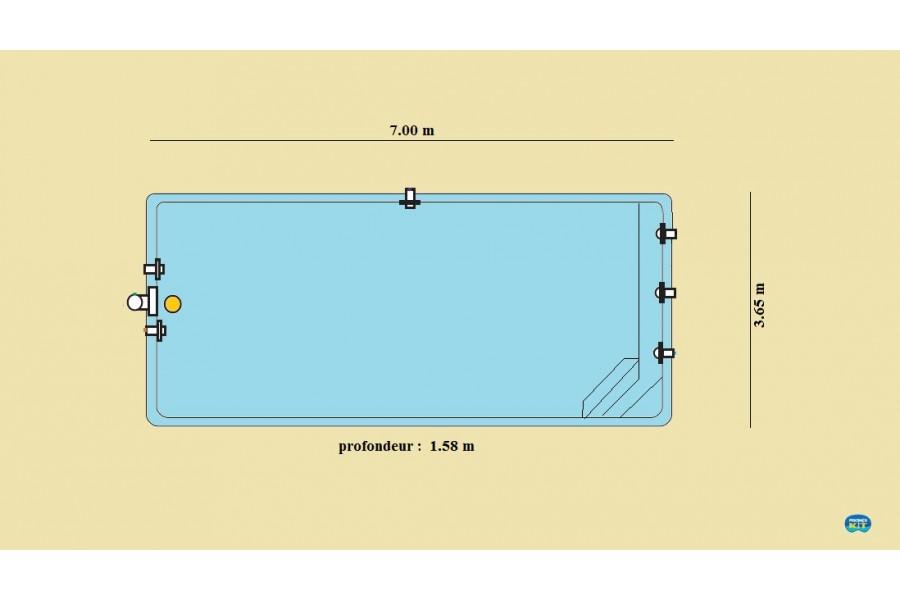 37 abris piscine plat nantes design for Piscine nantes