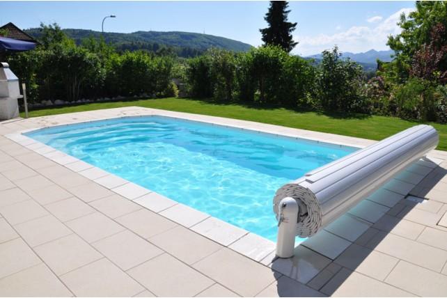 Volet de s curit immerg pour piscine cap vert for Eau verte piscine hors sol
