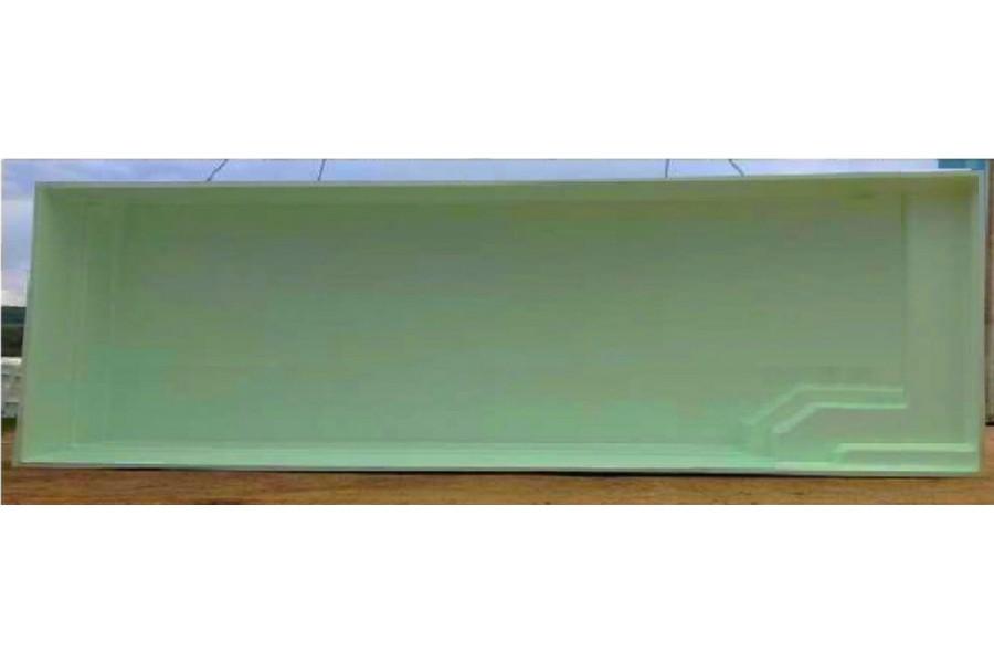 piscine couloir de nage polyester cuba 25. Black Bedroom Furniture Sets. Home Design Ideas