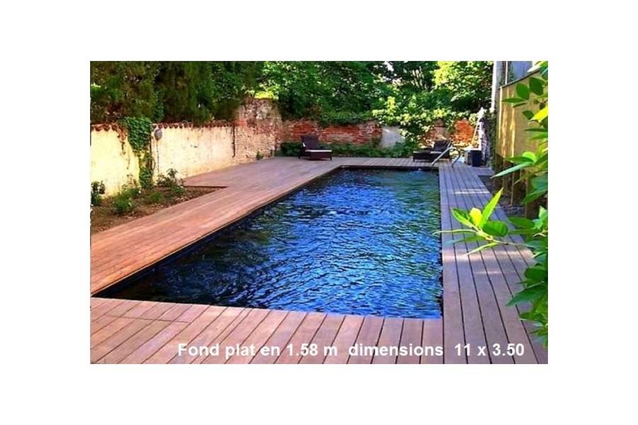 piscine couloir de nage coque polyester cuba 11. Black Bedroom Furniture Sets. Home Design Ideas