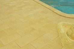 Margelles Paques+plage sur mesure pour votre piscine