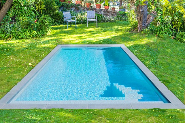 Mini piscine rectangulaire Saint-Louis
