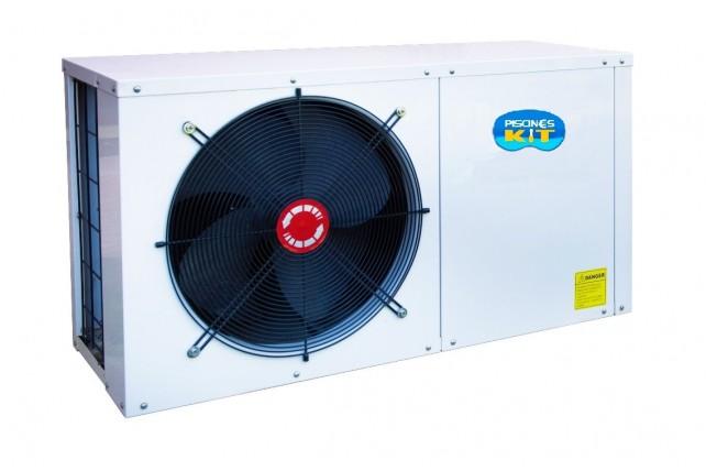 Pompe chaleur o 39 foehn 80 m3 piscines kit for Chauffage piscine 60 m3