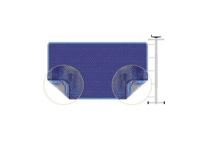 Couverture bulles piscine baltique piscines kit for Bache a bulle sur mesure pour piscine