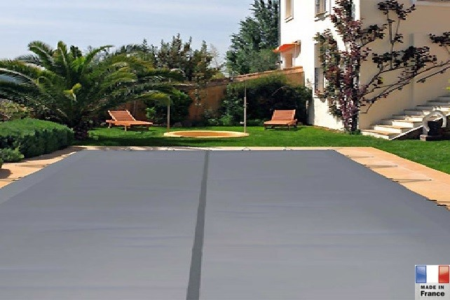 Couverture de s curit sp cial hiver cr te piscines kit for Couverture de securite piscine