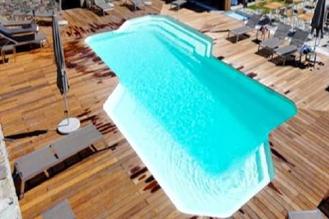 piscine polyester Montécristo