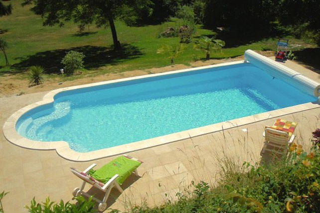 Kit piscine polyester corinthe - Piscine enterree en kit ...