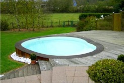 Mini-piscine polyester Guernesey