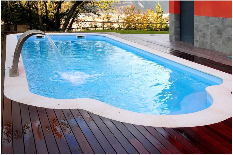 Kit piscine polyester syrte for Piscine polyester