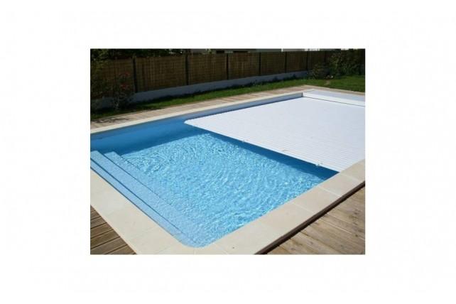Volet de sécurité immergé piscine Crête