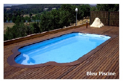 coque piscine couleur marron