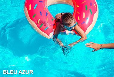 bleu azur piscine monocoque polyester