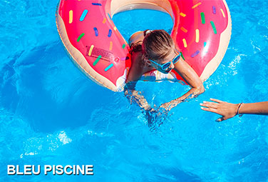 bleu piscine monocoque polyester
